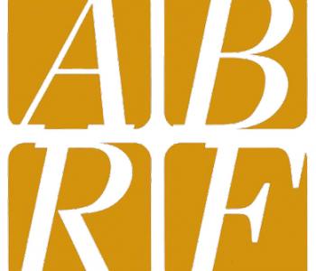 ABRF logo in white